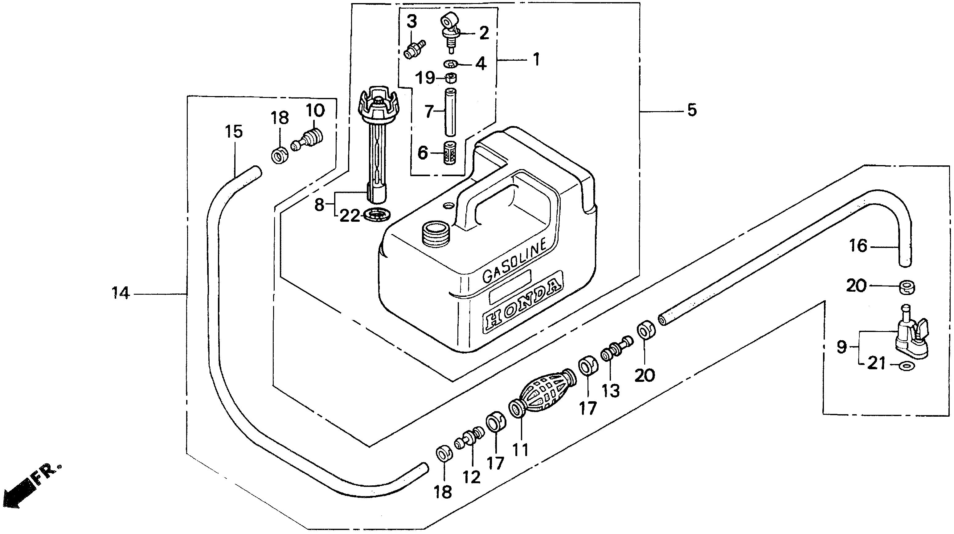 Honda Marine Parts Look Up Official Site Bf60 Wiring Diagram Fuel Tank 2