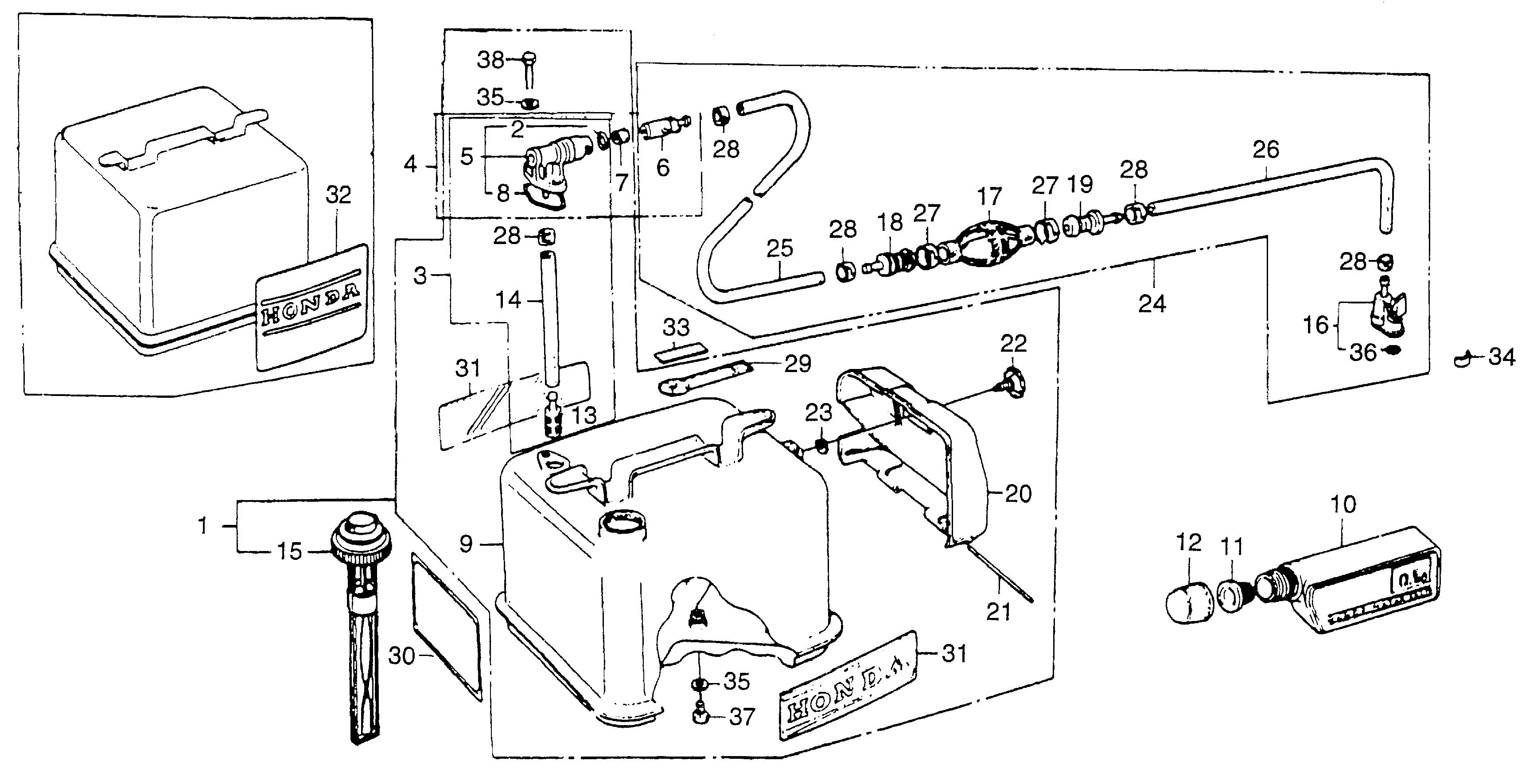 Honda Bf75 Wiring Diagram 225 Outboard Cooling System Bf60 Marine Parts Look Up Official Site On Bf