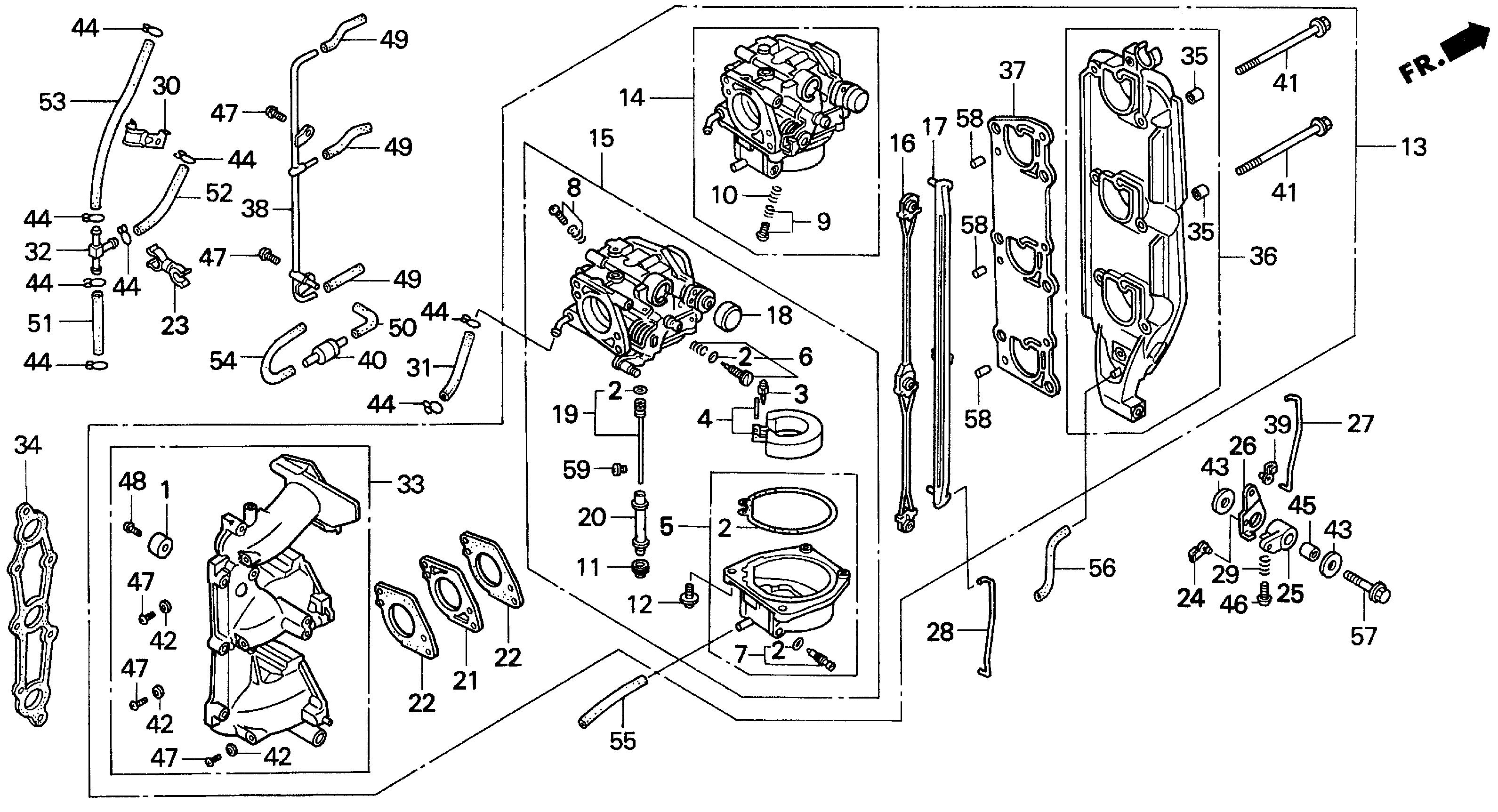 serial number honda outboard parts diagram  u2022 wiring