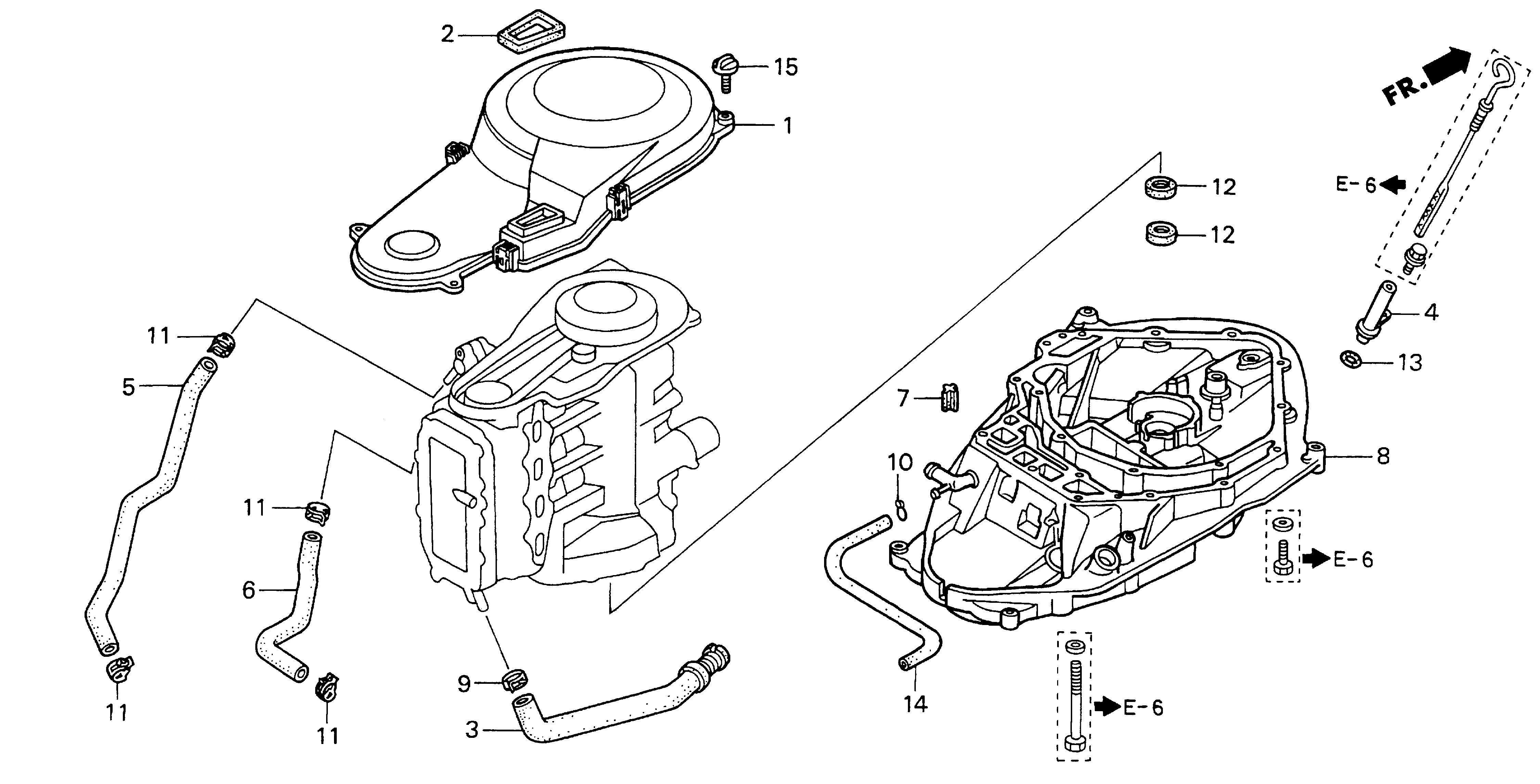 Honda Marine Parts Look Up Official Site Timing Belt Cover Schematic Mount Case