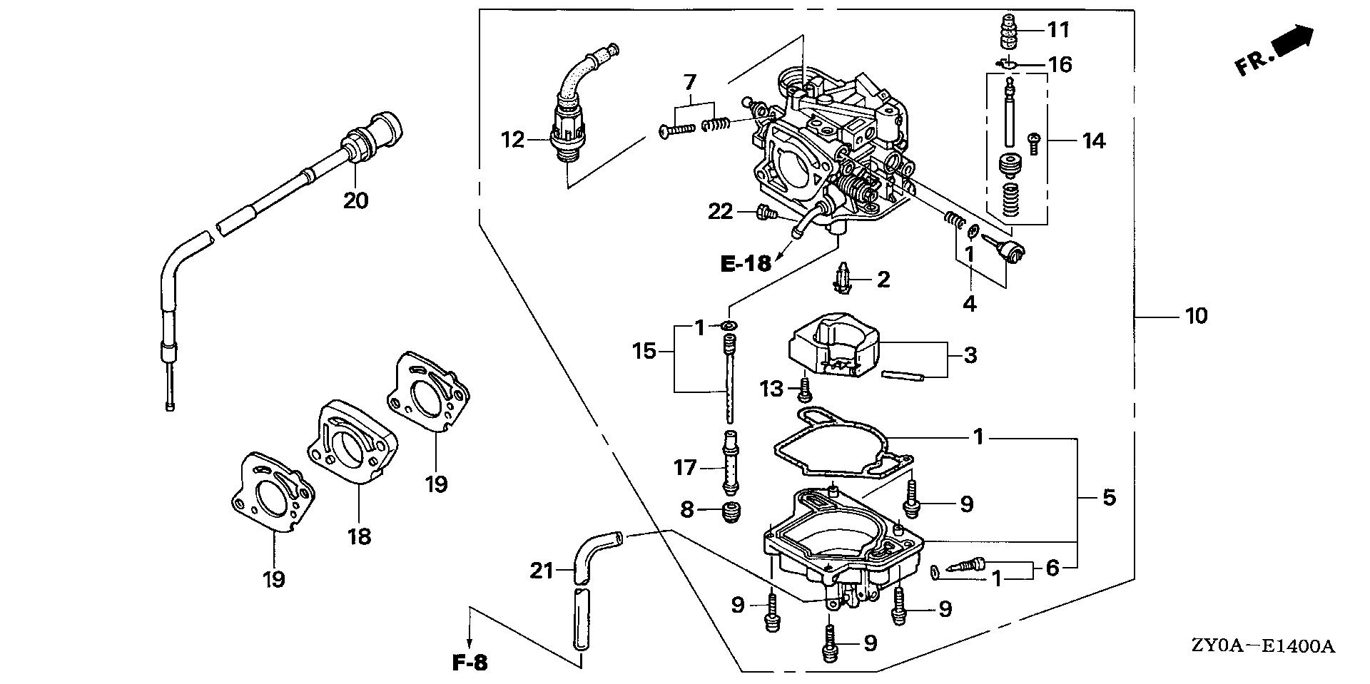Honda Marine Parts Look Up Official Site Auto Engine Diagram Carburetor Manual