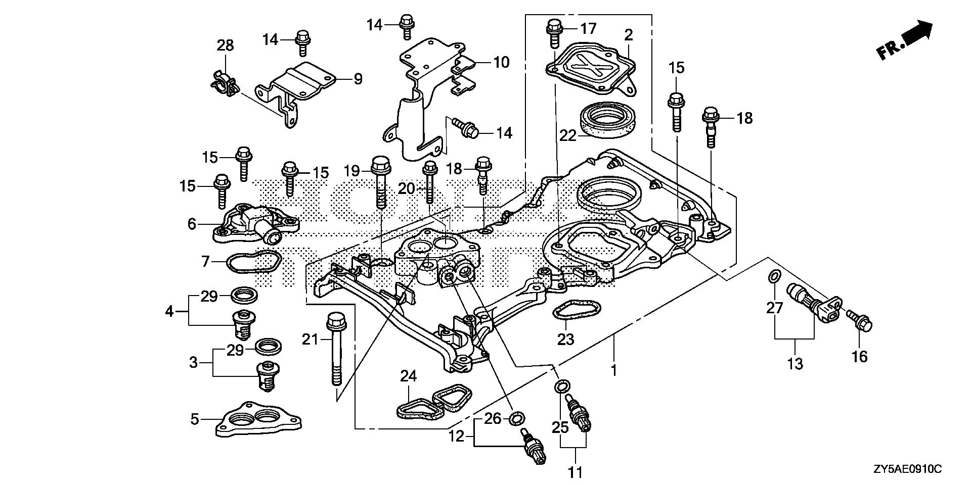 Honda Bf150 Outboard Wiring Diagram Dimensions Recon Marine Parts Look Up Official Site On Bf 150 Harness Diagrams