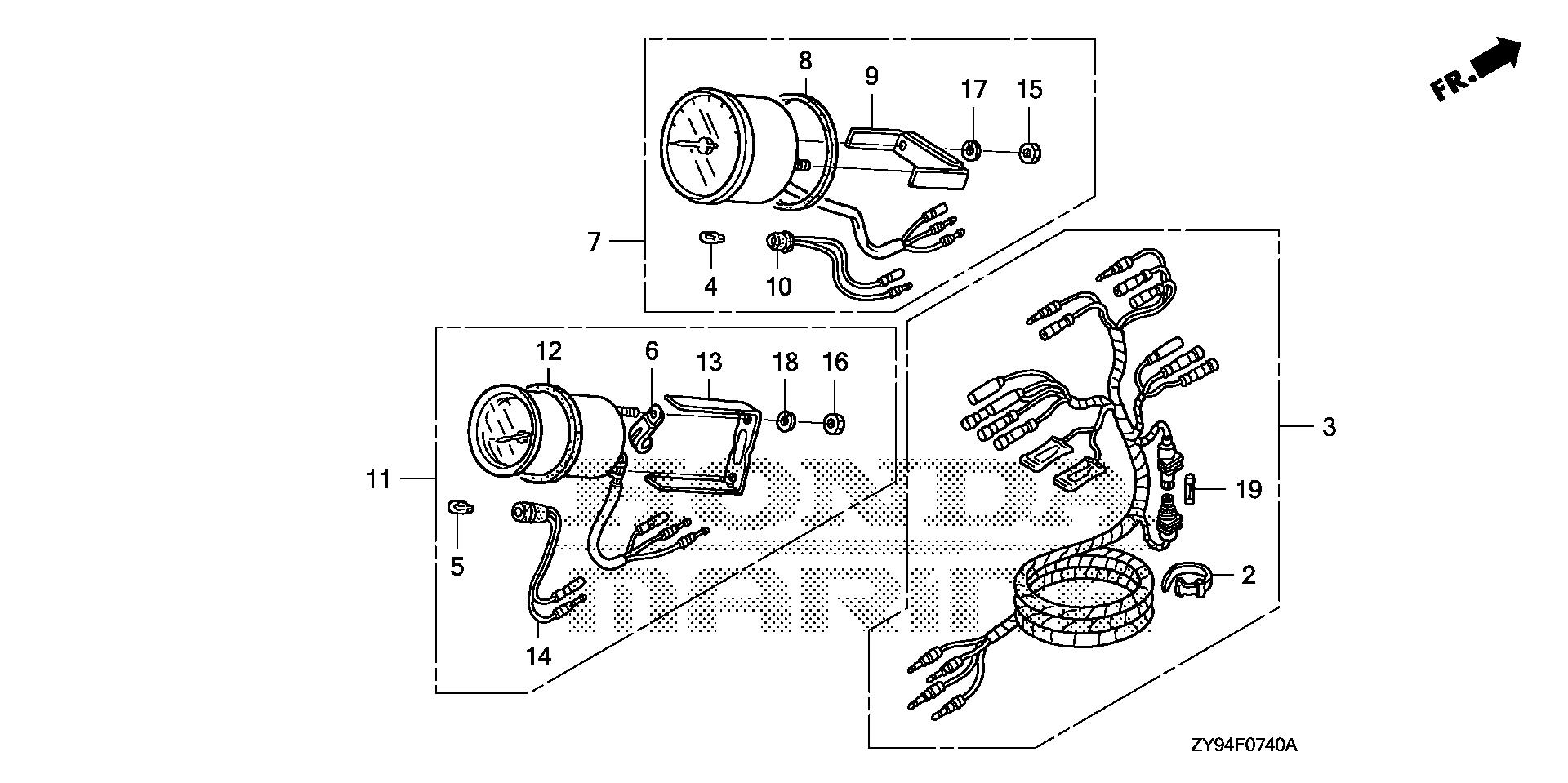 honda trx450r wiring diagram of motor