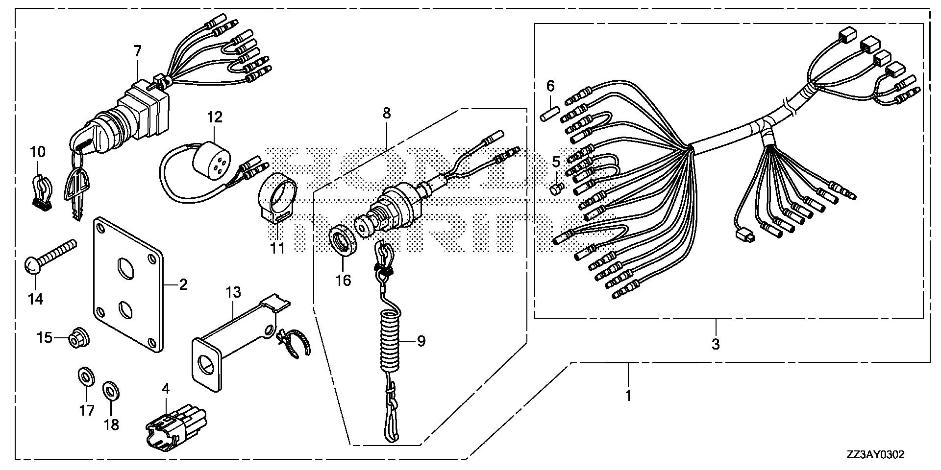 ford mustang drivetrain diagram