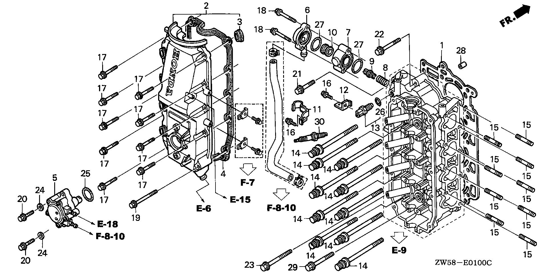 Honda Marine Parts Look Up Official Site Cylinder Diagram Head Cover